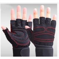 健身男士女士健身房手套 半指运动锻练举重护腕器械防滑手套