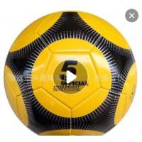 工厂现货3号4号5号儿童成人黑白足球机缝耐磨PVC足球定制