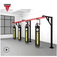 轨道式立柱可移动收纳沙包架 搏击健身器材多功能沙袋架