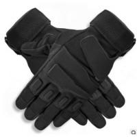 军迷户外黑鹰全指手套特种兵战术手套防护耐磨骑行手套男运动手套
