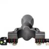 厂家直销 新款ABS灯瞄水平仪瞄扁皮筋 户外精准98K快压树脂弹弓