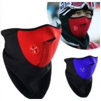 骑行口罩面罩防寒防尘滑雪面罩户外护脸面罩防风山地车装备配件