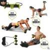 健腹轮 家用腹肌轮健身轮滚轮静音拉力绳 多功能减肥健腹器批发
