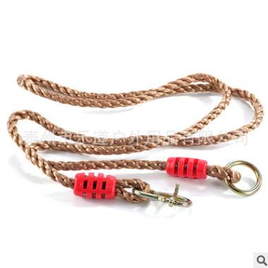1.8米可调节PE塑料连接绳 吊环承重加长绳 秋千吊椅悬挂延长绳子