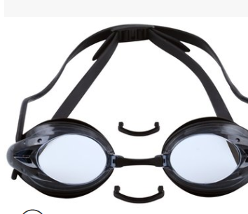 成人泳镜4色小赛镜游泳初学备用防水防雾高清泳镜可定制LOGO