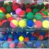 厂家批发高弹力空心橡胶球 定制各尺寸美式壁球 橡胶材质美式壁球