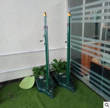 厂家直销ANS羽排两用柱 羽毛球支架120公斤 160公斤排球支架