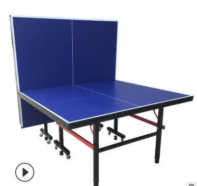 厂家生产室外乒乓球桌室内 外防水防晒乒乓球台 可折叠乒乓球台