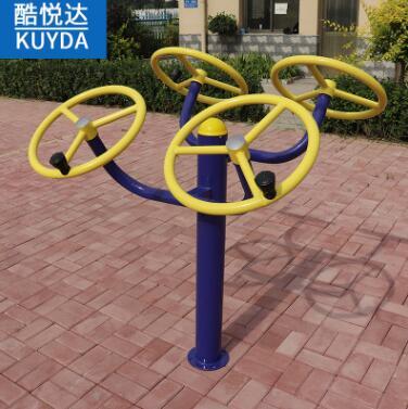 户外锻炼健身器材腰背按摩器 广场小区公园户外健身路径支持定制