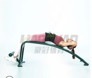 腹肌板 单人仰卧起坐健身器材户外小区公园广场体育设施 腹肌板