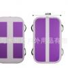 进口拉丝充气体操垫水上瑜伽垫PVC空翻气垫 定做跆拳道场馆垫定制