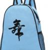 现货时尚双肩舞蹈背包儿童芭蕾拉丁跳舞包带网兜舞蹈包可定制印字