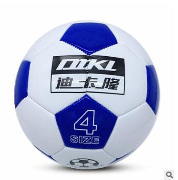 足球4号厂家直销黑白块PVC耐磨耐踢儿童中小学生训练足球