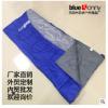 户外成人野营装备 可拼接信封式涤丝布袋 防水超保暖隔脏睡袋