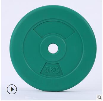 光面彩色杠铃片 健身房环保杠铃片哑铃片 健身器材定制