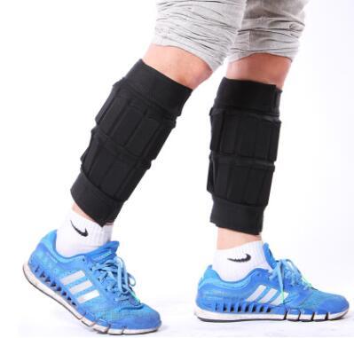 沙袋绑腿跑步负重装备隐形钢板可调节沙袋负重绑手铅块负重绑腿