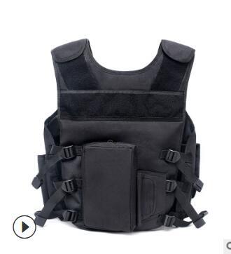 现货跨境军迷户外战术背心多功能SWAT勤务背心