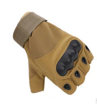 战术手套半指O记特种兵作战手套格斗防割登山骑行户外手套厂家