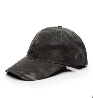 户外军迷棒球帽 蟒纹迷彩遮阳帽 特种兵战术帽 鸭舌帽军训帽现货
