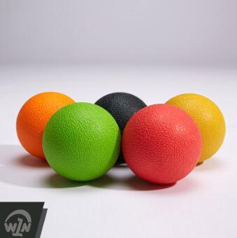 TPE注塑筋膜球按摩球深层肌肉放松球曲棍球療癒健身球