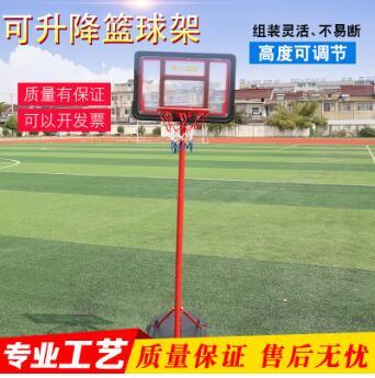 篮球架室内落地式投篮框亲子运动成人户外标准可移动可升降