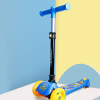 美洲狮(COUGAR) 滑板车儿童 2-3-6岁宝宝滑车闪光三轮小孩踏板车
