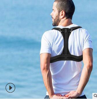 透气矫正带外贸跨境健身护具驼背塑形体矫正厂家定制