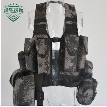 06战术背心 通用数码丛林迷彩马甲 06多功能单兵战斗携行具