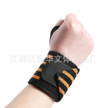篮球举重卧推透气女护手腕套运动护腕男士健身防扭伤加压绷带护腕