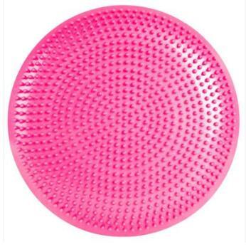 厂家直销 按摩球 瑜伽平衡垫半圆球 充气健身按摩垫 软平衡理疗球