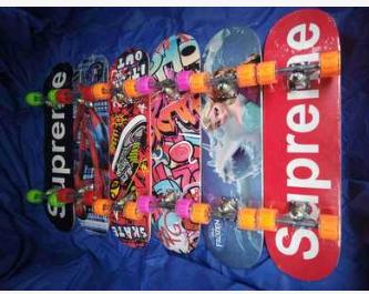 新款厂家批发初学者四轮滑板儿童青少年成人双翘专业公路滑板