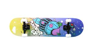厂家批发四轮滑板 青少年成人运动枫木滑板 抖音街舞通用双翘滑板