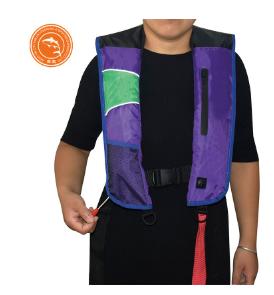 定制气胀式救生衣成人自动充气专业钓鱼户外漂流救生衣
