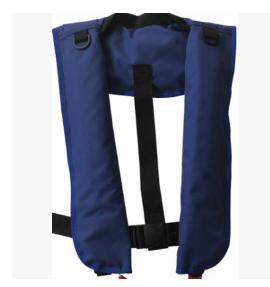 厂家直销订购气胀式救生衣,品质安全放心!此款产品适合海上作业