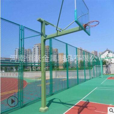 河南厂家直销篮球场围网 体育场防护网 运动场围栏网 操场隔离网