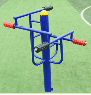 批发定制四级压腿按摩器室外健身器材户外小区器材压腿架广场路径
