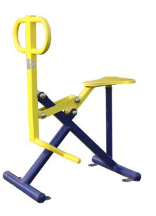 室外健身器材骑马机家用户外小区健身器材路径 健骑机骑马平步机