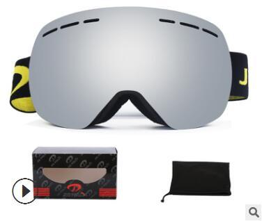 冬季滑雪装备批发男女滑雪镜新款成人双层防雾近视球面滑雪眼镜