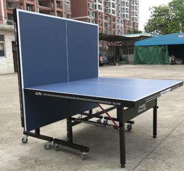 厂家直销乒乓球桌家用折叠乒乓球台标准室内乒乓桌