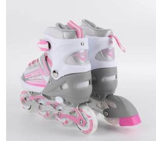 厂家批发正品四轮成人双排溜冰鞋成年专用旱冰鞋可调男女轮滑鞋