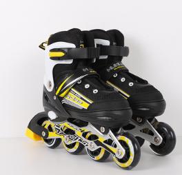 厂家批发正品四轮成人双排溜冰鞋成年旱冰鞋可调节男女通用轮滑鞋