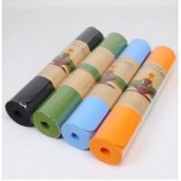 工厂单色tpe瑜伽垫瑕疵品处理 防滑运动健身垫仰卧起坐垫子