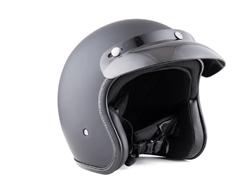 BYB/亚比雅701复古头盔防晒头盔时尚半盔哈雷电动车头盔骑行头盔