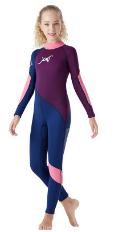 DIVE&SAIL青少年潜水服2.5MM儿童连体保暖泳衣学生浮潜冲浪水母衣