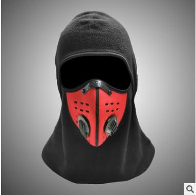 防尘口罩骑行面罩滑雪KN95头套防风保暖秋冬面罩