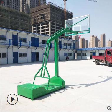 户外移动篮球架室外标准比赛篮球架学校公园小区可移动户外篮球架