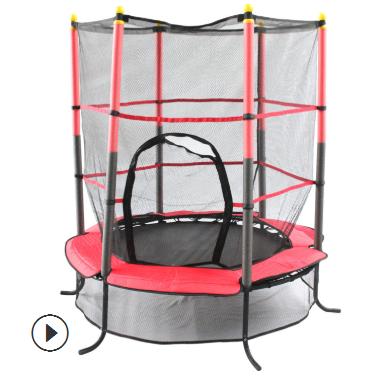 厂家直销天鑫蹦床儿童室内外跳床护栏网弹跳床1.4米弹力绳蹦蹦床