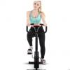 新款外贸家用织带车办公室脚踏车动感单车织带车健身自行车器材