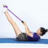 四管多功能脚蹬拉力器 脚踏拉力器 瘦腿男女拉力绳运动健身器材厂