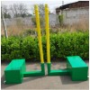 产地货源标准比赛专用排球柱 移动排球架气排球架子网球架可配重